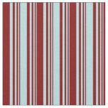 [ Thumbnail: Powder Blue & Maroon Colored Pattern Fabric ]
