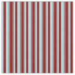 [ Thumbnail: Powder Blue & Maroon Lined/Striped Pattern Fabric ]