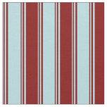 [ Thumbnail: Powder Blue & Maroon Pattern Fabric ]