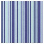 [ Thumbnail: Powder Blue & Midnight Blue Colored Pattern Fabric ]
