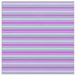 [ Thumbnail: Powder Blue & Orchid Colored Stripes Fabric ]