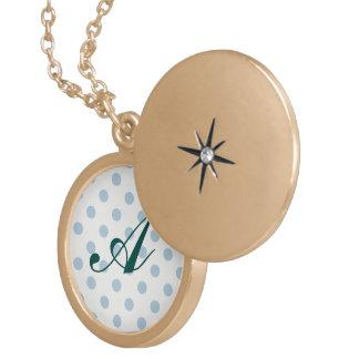powder blue ,polka dot,white,cute,girly,trendy,fun pendants