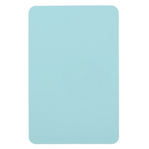Powder Blue Rectangle Magnets