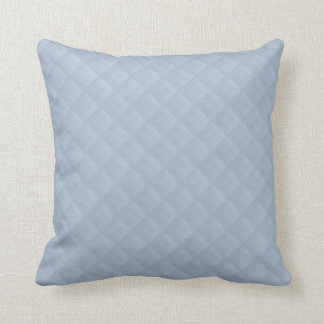 Powder Blue Quilted Leather Pillows