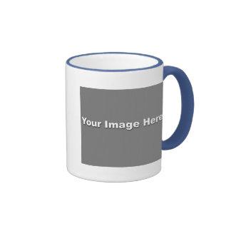 Powder Blue Ringer Mug Template