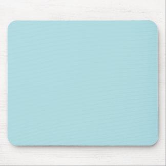 Powder Blue Solid Color Design B0E0E6 Template Mouse Pads