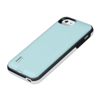 Powder Blue Solid Color Uncommon Power Gallery™ iPhone 5 Battery Case