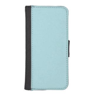 Powder Blue Solid Color iPhone 5 Wallet