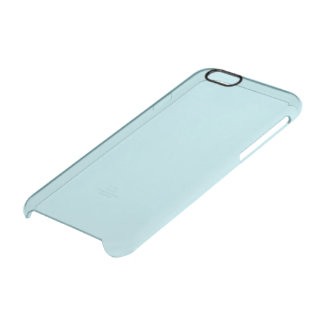 Powder Blue Solid Color Uncommon Clearly™ Deflector iPhone 6 Case