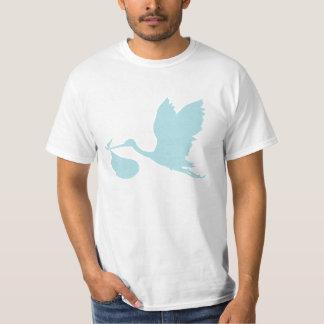 Powder Blue Stork T-Shirt