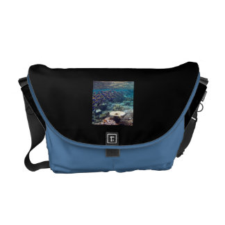 Powder Blue Surgeon Fish Messenger Bag