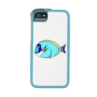 Powder Blue Tang Fish iPhone 5 Covers