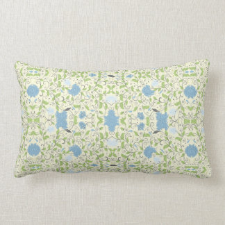 Powder Blue Throw Pillow