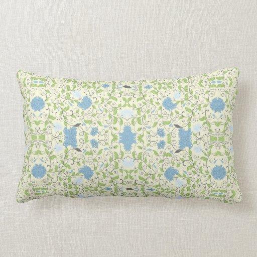 Powder Blue Throw Pillow