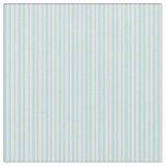 [ Thumbnail: Powder Blue & White Colored Lines Pattern Fabric ]