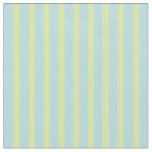 [ Thumbnail: Powder Blue & Yellow Pattern Fabric ]