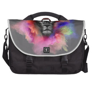 Powder Burst Lion Computer Bag
