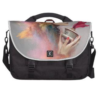 Powder Burst Portrait Commuter Bags