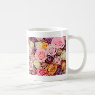 Powder colored roses by Therosegarden Coffee Mug