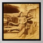 Powder Monkey on the USS Pawnee 1862 Print