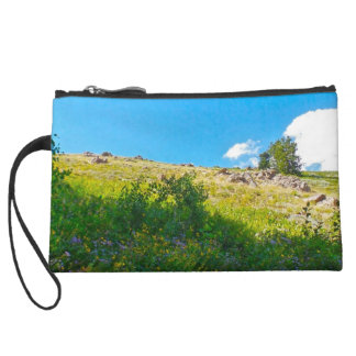 Powder Mountain Summertime: Lightning Ridge Wristlet Wallet