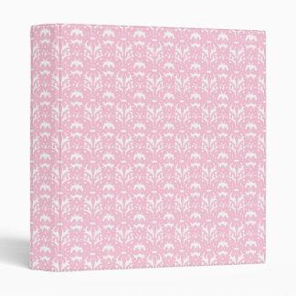Powder Pink Gothic Lace 3 Ring Binder