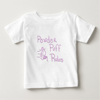 Powder Puff Rules Baby T-Shirt