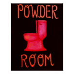 Powder Room Poster