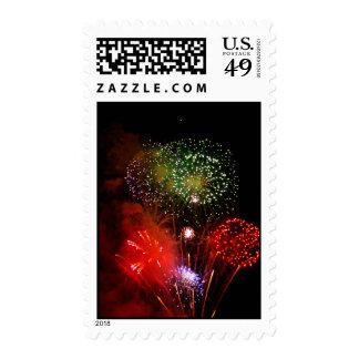 powder sky postage stamps