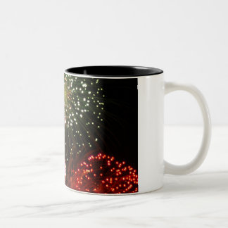 powder sky Two-Tone coffee mug