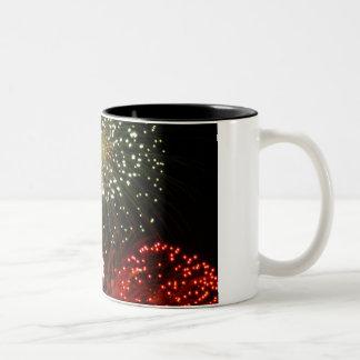 powder sky Two-Tone coffee mug