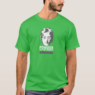 Powder To The People (snowboard) T-Shirt