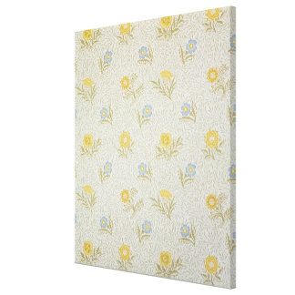 Powdered wallpaper design, 1874 canvas print