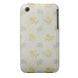 Powdered wallpaper design, 1874 iPhone 3 Case-Mate case