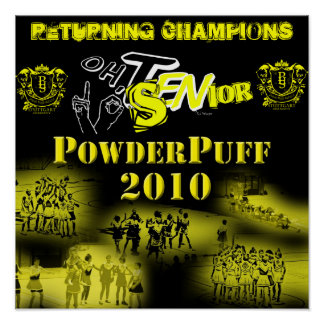 Powderpuff Poster