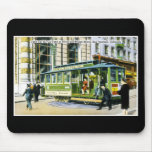 Powell and Market Streets, San Francisco, CA Mousepads