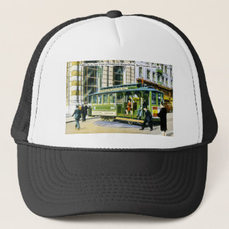 Powell and Market Streets, San Francisco, CA Trucker Hat