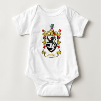 Powell Family Coat of Arms Baby Bodysuit