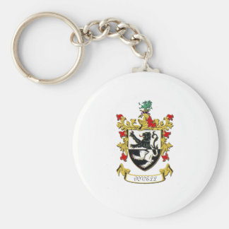Powell Family Coat of Arms Basic Round Button Keychain