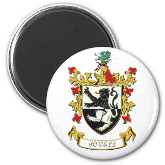 Powell Family Coat of Arms Magnet