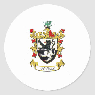 Powell Family Coat of Arms Sticker