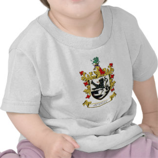 Powell Family Coat of Arms T Shirts