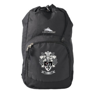 Powell Family Crest Coat of Arms Backpack