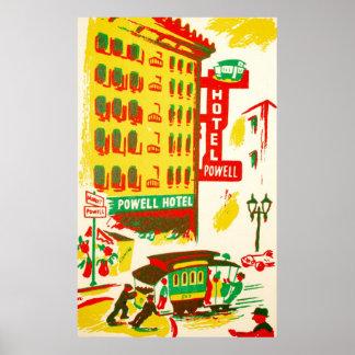 Powell Hotel San Francisco Print