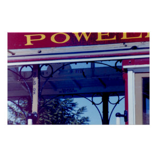 Powell Street Cable Car Poster