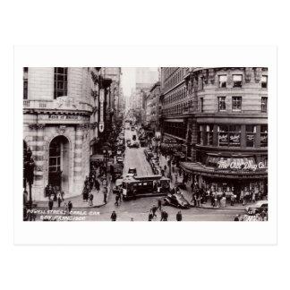 Powell Street, San Francisco, California Vintage Postcard