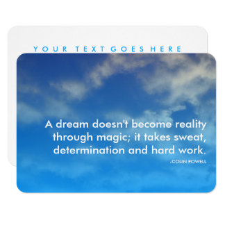 powell success quote card