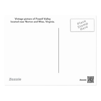 Powell Valley--Wise Co., VA Postcard
