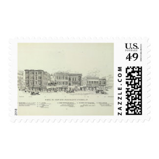 Powell West side Ellis and O'Farrell Postage