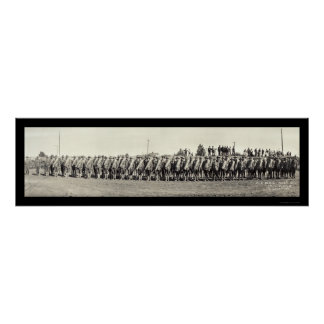 Powell WY Soldiers Photo 1916 Print